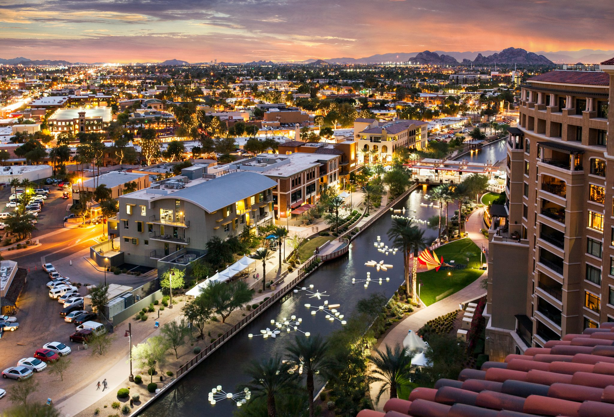 Scottsdale Waterfront-Scenic